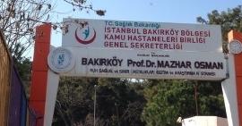 Bakırköy Prof.Dr.Mazhar Osman Ruh Sağ. Ve Sinir Hast. Eğt. Ve Araş. Hastanesi Fotoğraf