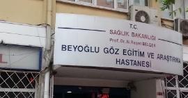 İstanbul Beyoğlu Göz Eğitim Ve Araştırma Hastanesi Fotoğraf
