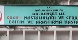 İzmir Dr.Behçet Uz Çocuk Hastalıkları Ve Cerrahisi Eğitim Ve Araştırma Hastanesi